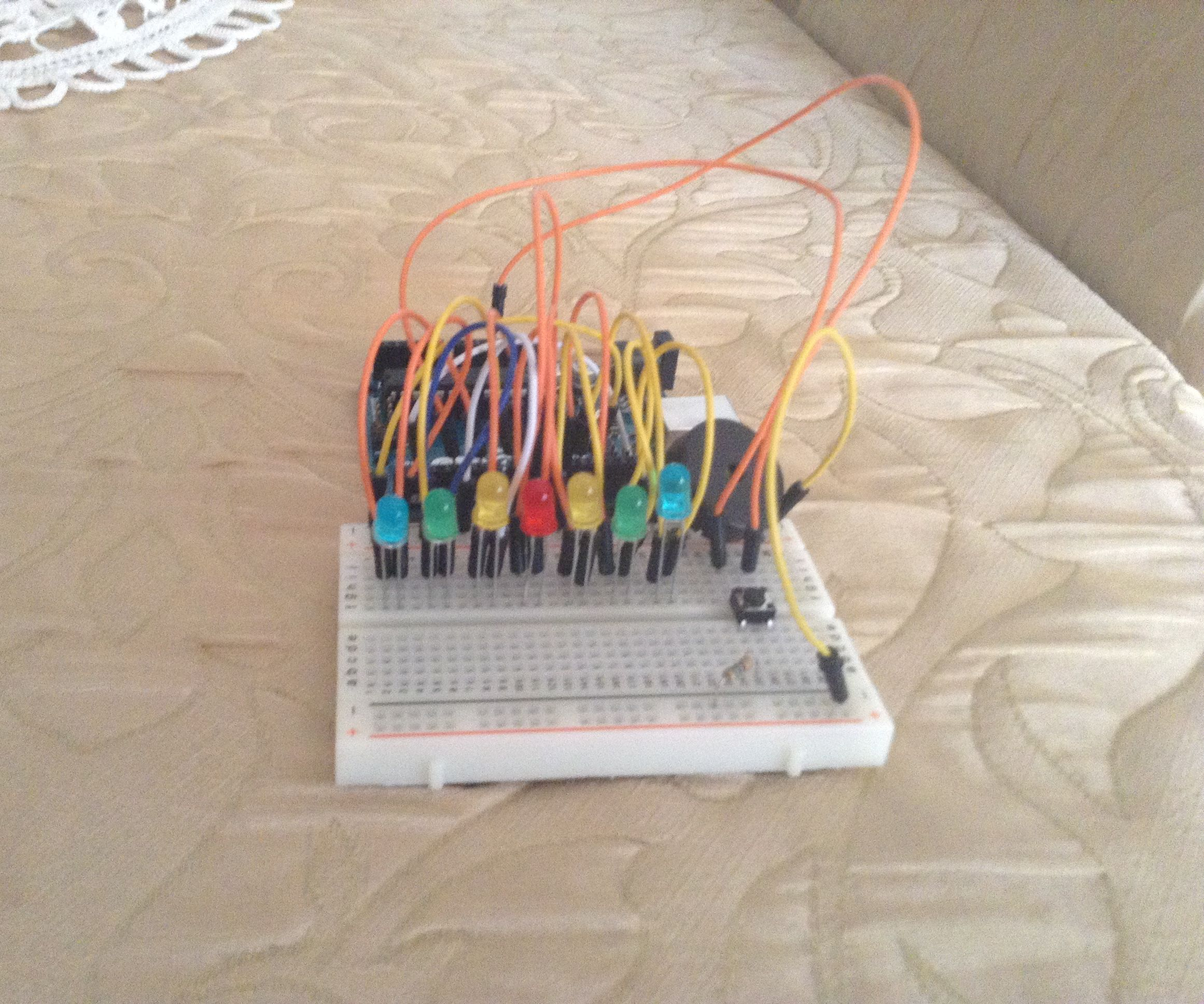 Arduino Led Mini Game
