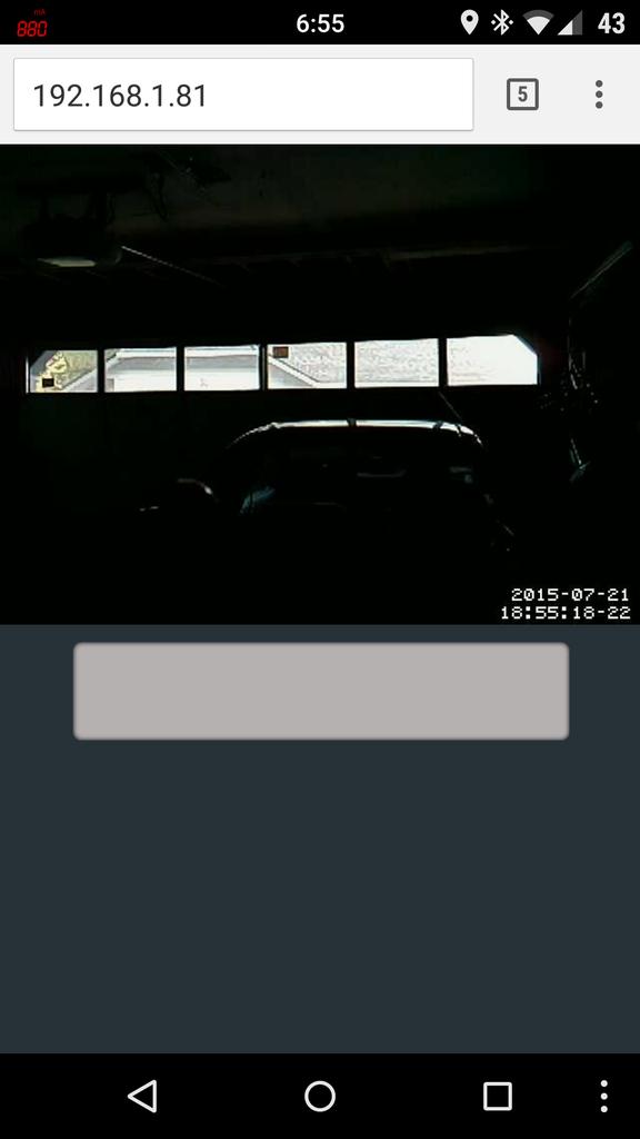 Raspberry Pi Garage Door Opener With Streaming Video of Door Status.