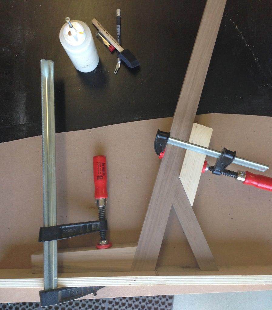 Assembling the Second Leg Joint