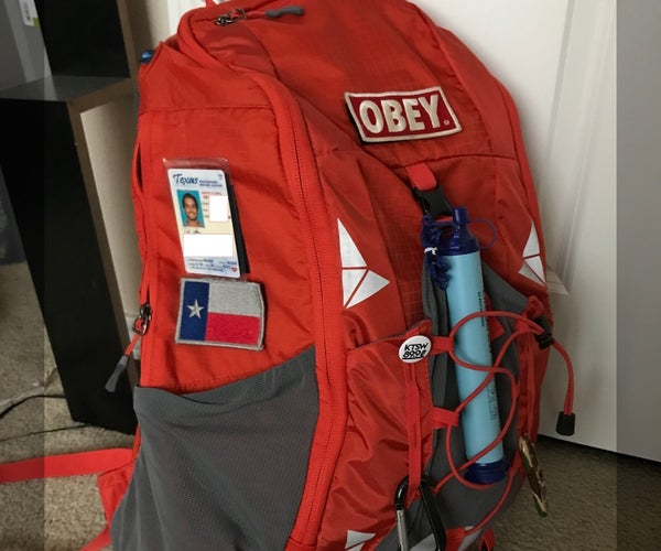 DIY Backpack Velcro
