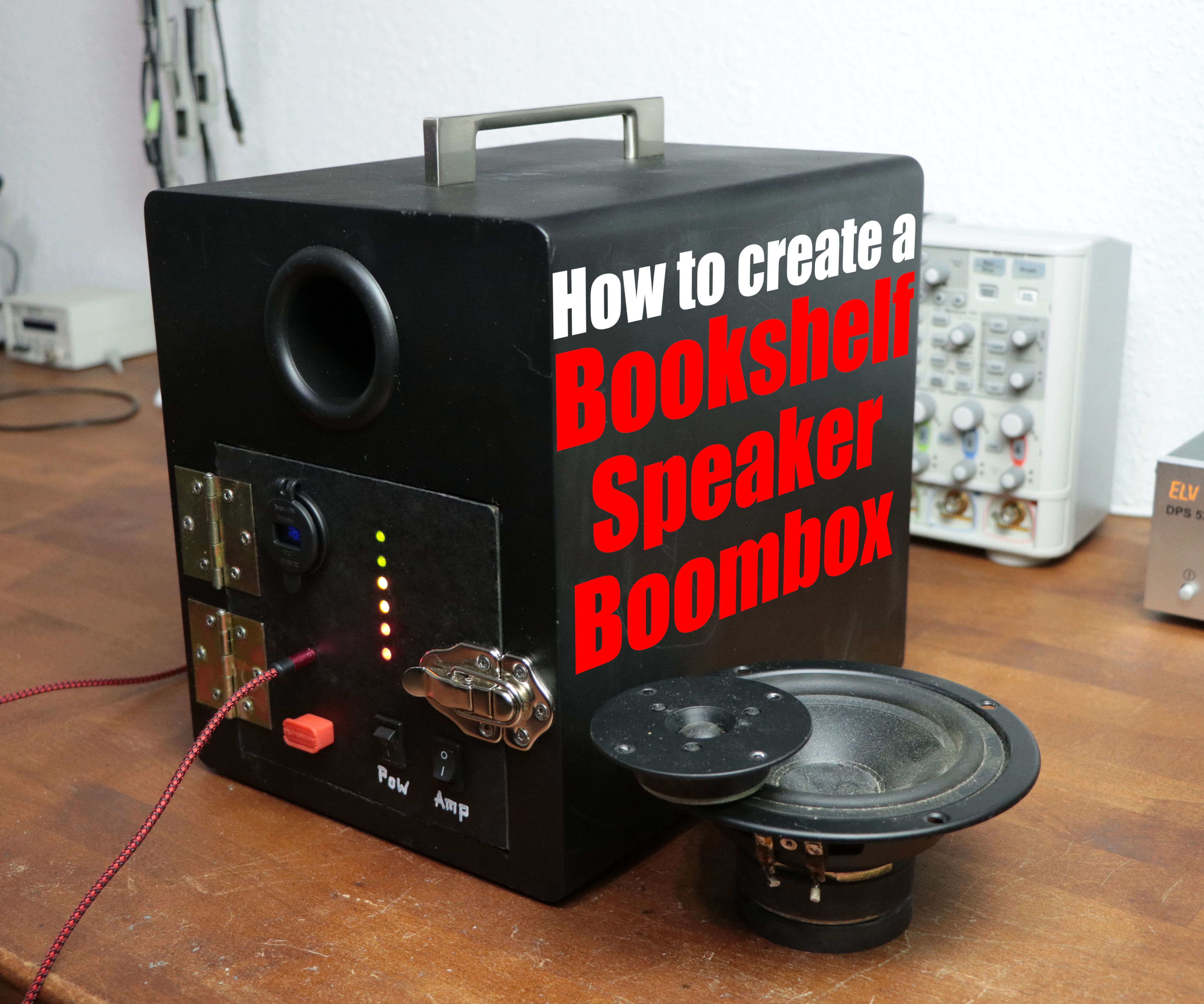 How to Create a Bookshelf Speaker Boombox
