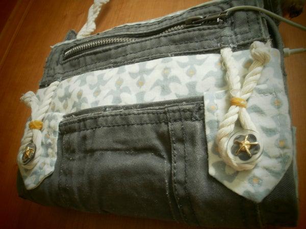DIY Tablet or E-Book Reader Case/Purse - Minimal Sewing