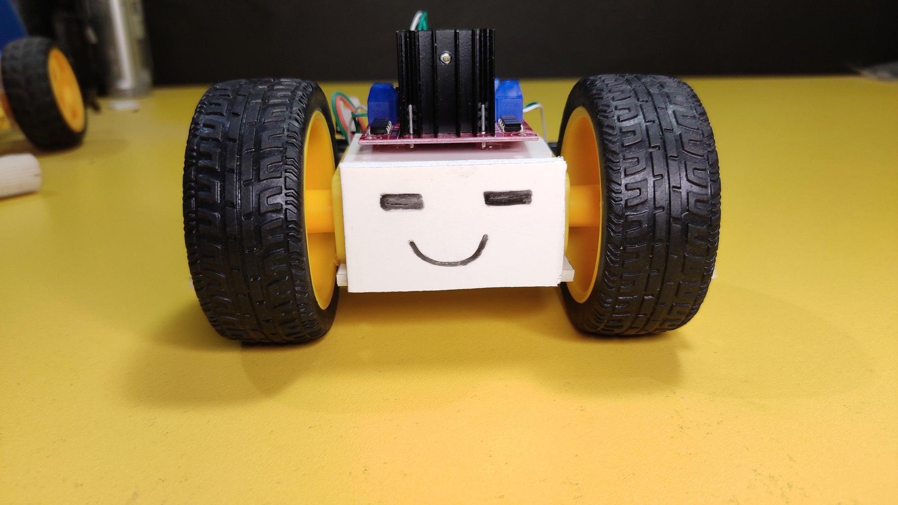 Power the Bot, Run App and Go!