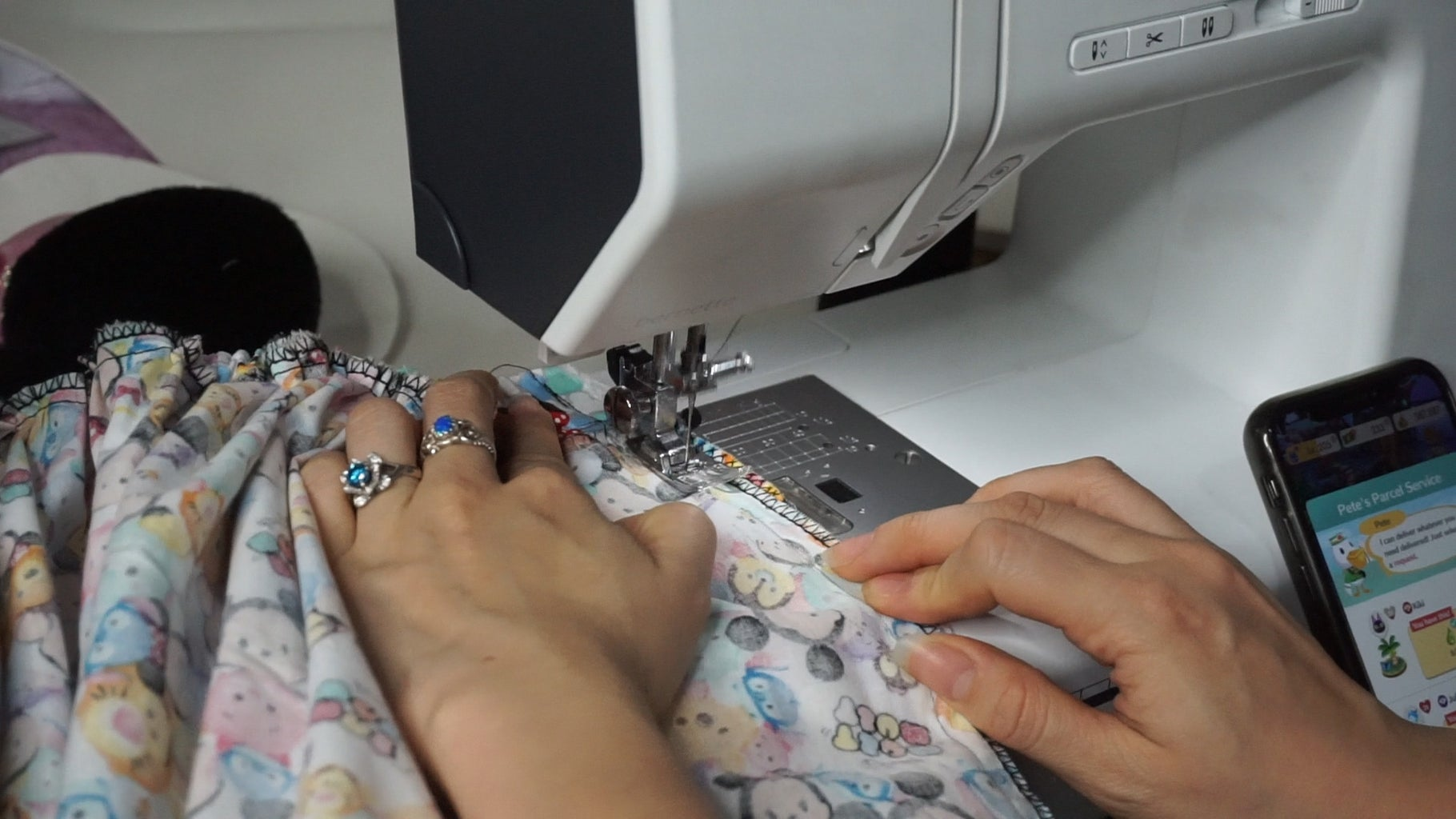 Step 8: Sew the Elastic and Side Seam Closed