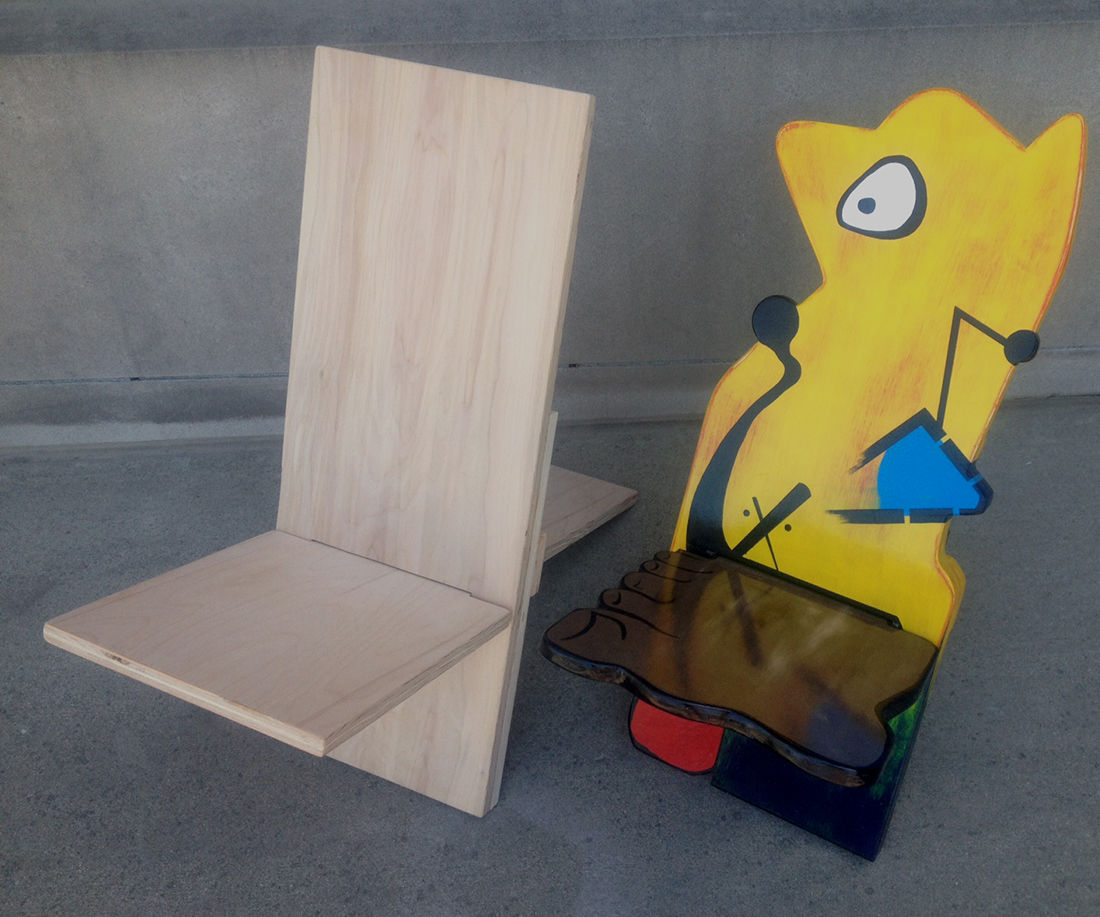Folding (pac-n-go) Chair