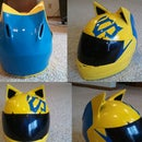 Celty Cosplay Helmet Modification