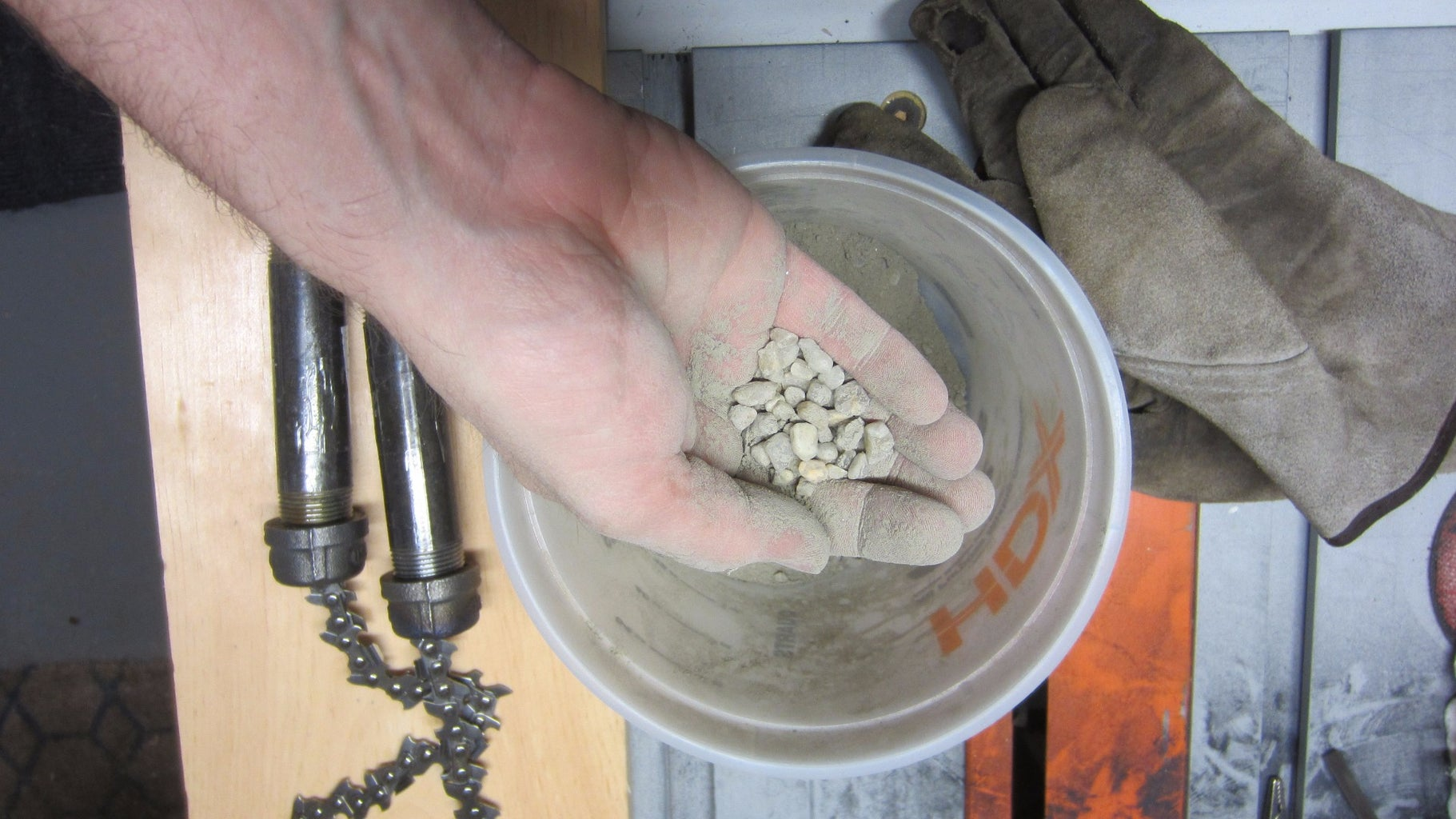 Mix and Pour the Concrete