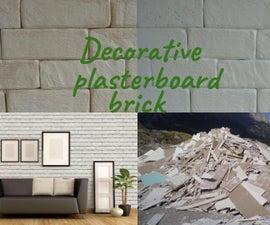 Decorative Plasterboard Brick