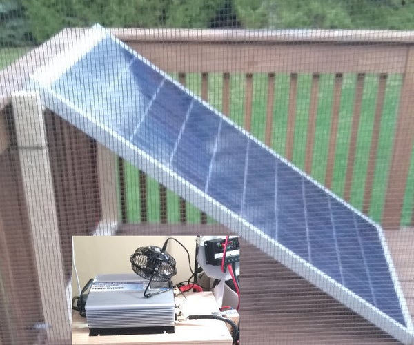 Small Home / Apt. Solar Electricity, & Save Money