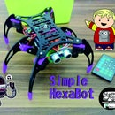 Simple HexaBot With IR Remote Control
