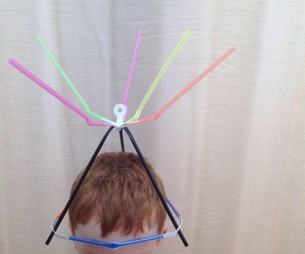 Strawbees Spinning Crazy Scientist Hat