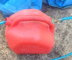 Mini Fuel Tank Out of Gas Can