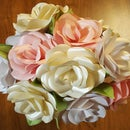 Shimmer Paper Rose Bouquet