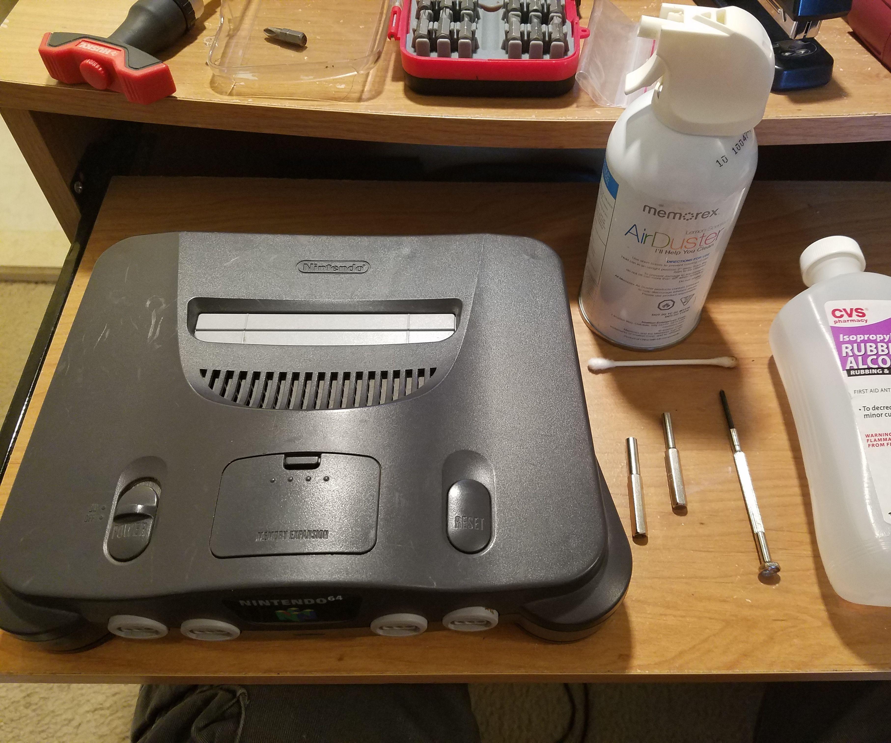 Restoring a Nintendo 64 N64