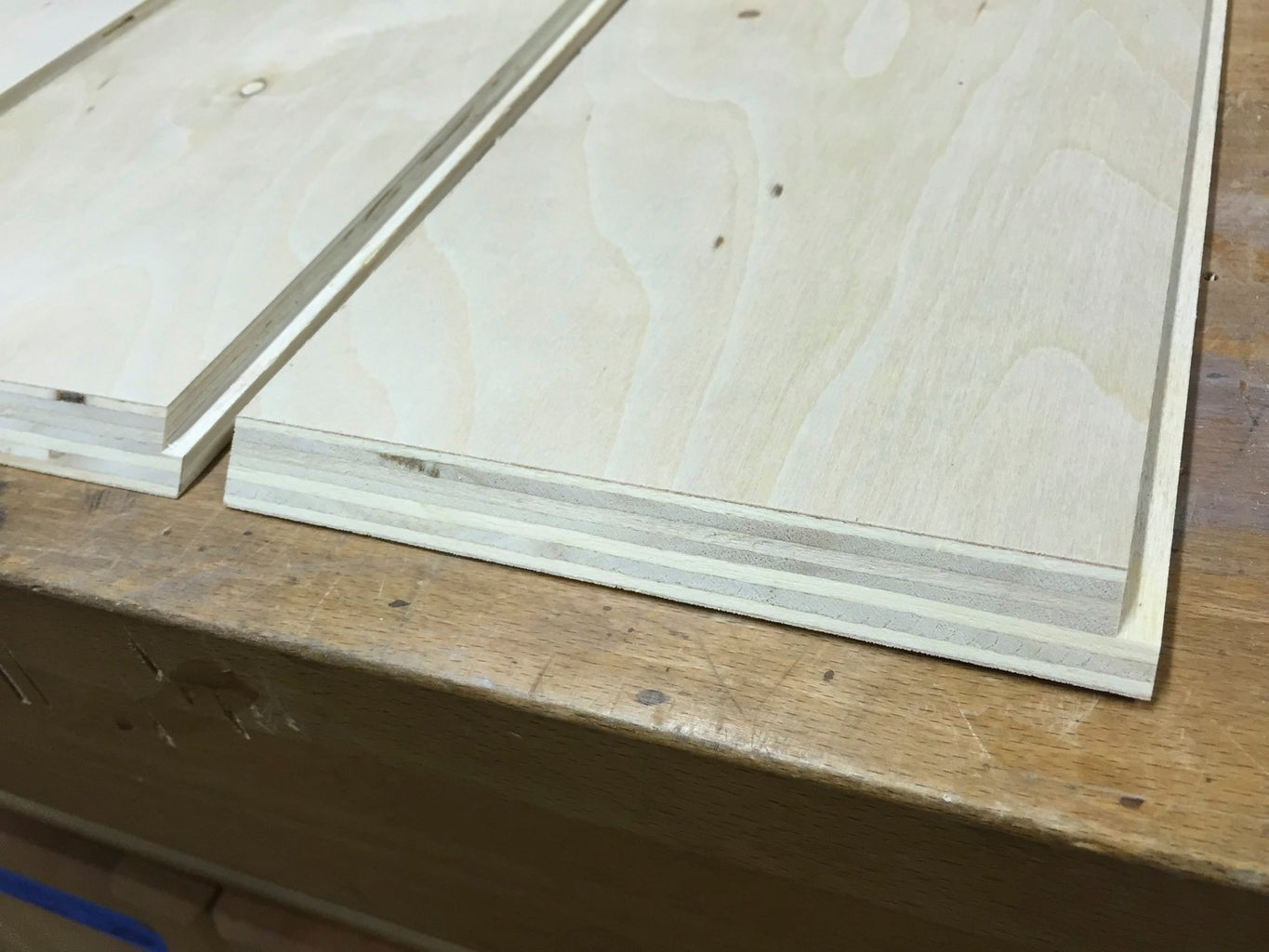 Box Joints and Back Panel