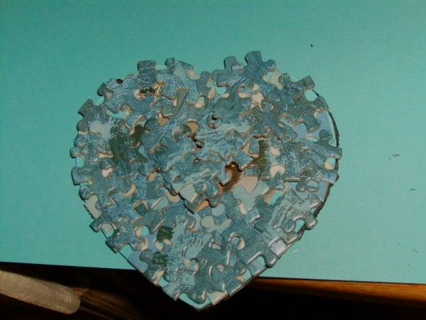Heart Shaped Valentine Pin / Frame