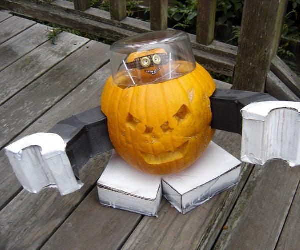 Robo Jack-o-Lantern