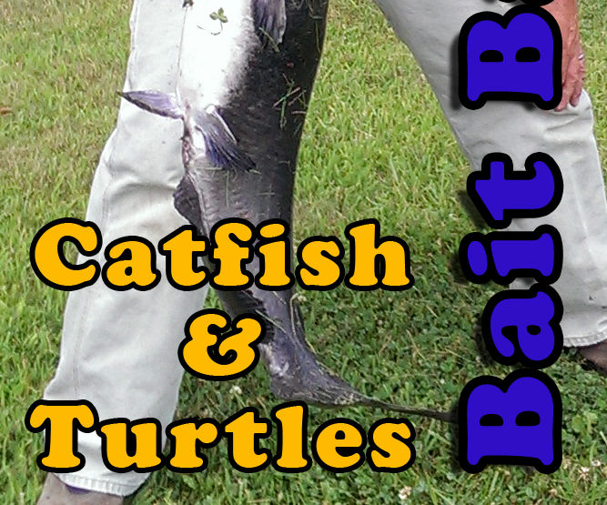 Catfish and Snapping Turtle Bait Bags