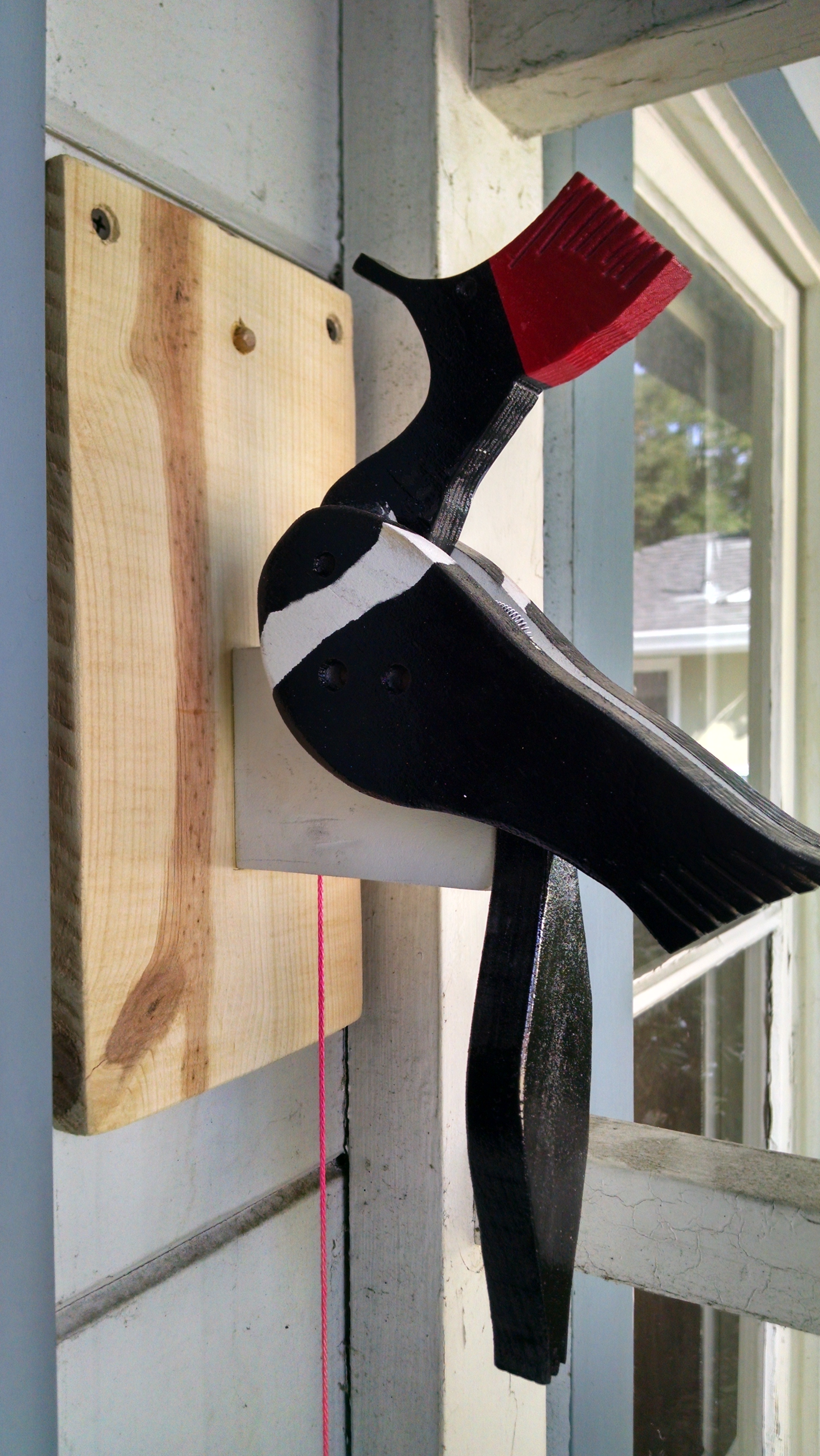 Woodpecker Door Knocker 4 Steps With Pictures Instructables