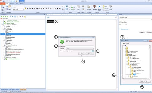 Create Embedded Topic for Reuse