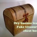 Cheap treasure chest box (REAL wood LOOK)