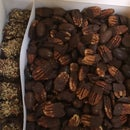 Chocolate Covered Bacon and Pecans (Low Carb)