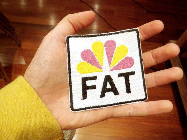 Embroidered Iron-On Patch