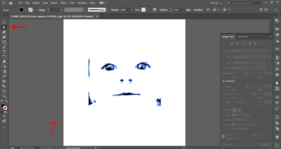 Vectorize the Pictures