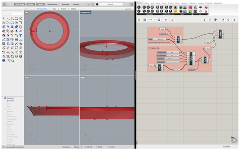 STEP ONE [Measuring the Object & Designing Lip]