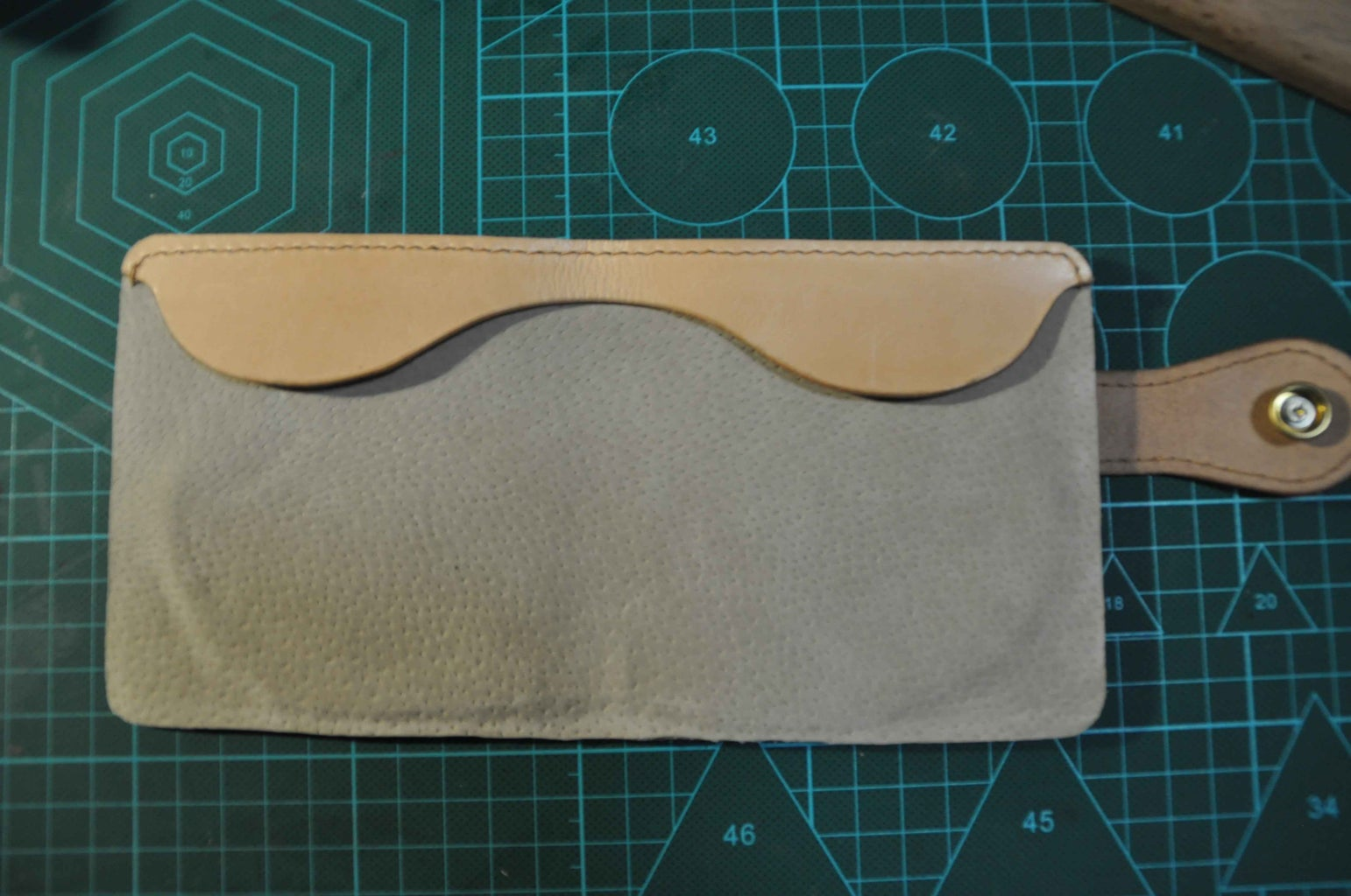 Sew the Beam Leather On.