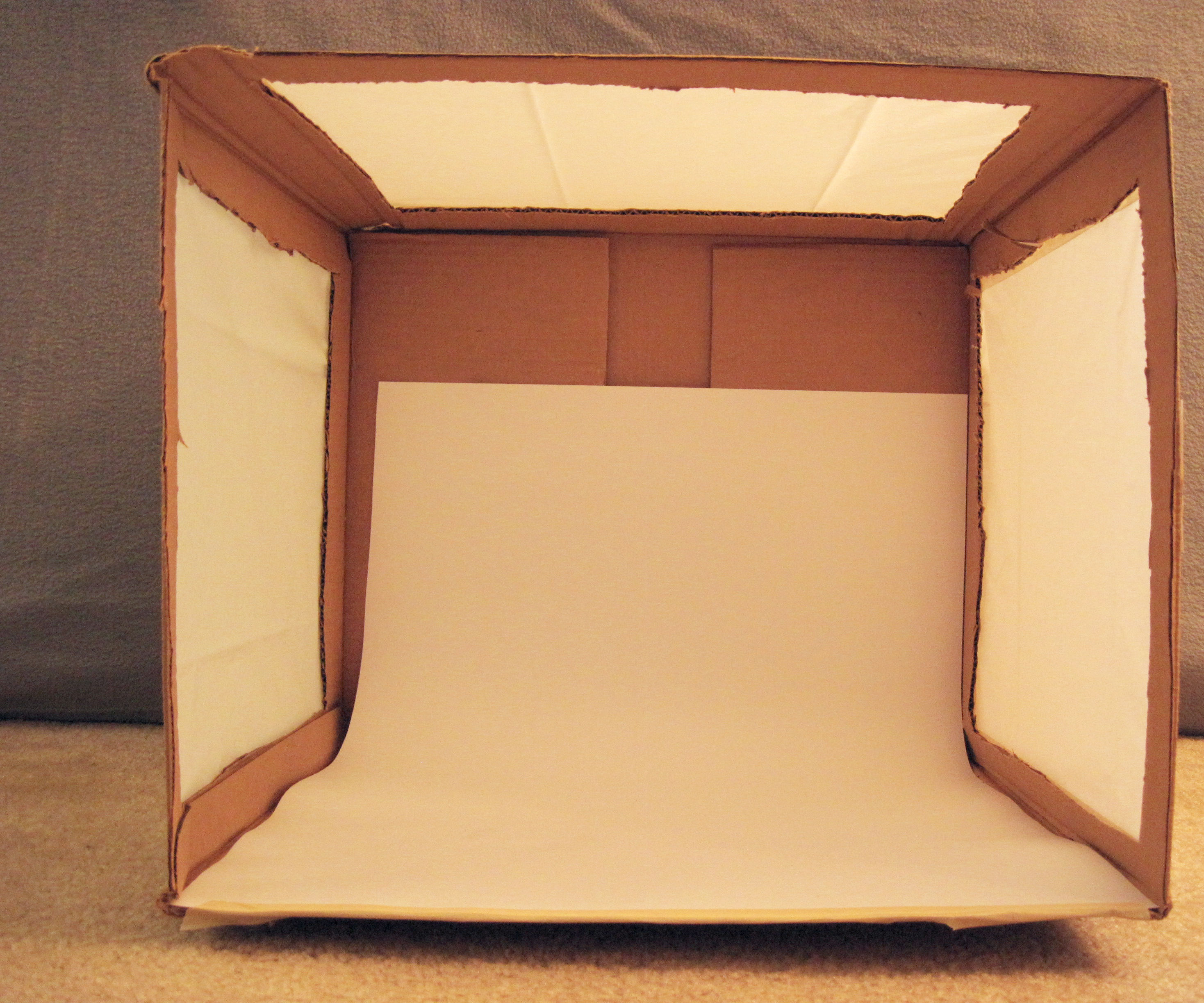 Inexpensive DIY Lightbox