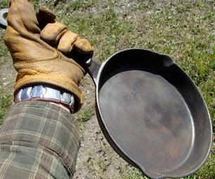 Restore a Cast Iron Frying Pan
