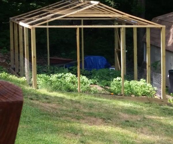 Protected Garden Enclosure