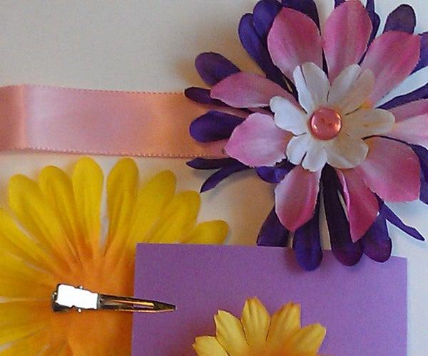 Easy Flower Craft for Children