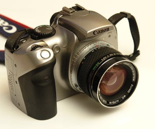Hack Canon EOS 300D to Confirm Focus With All Lenses, Permanently.