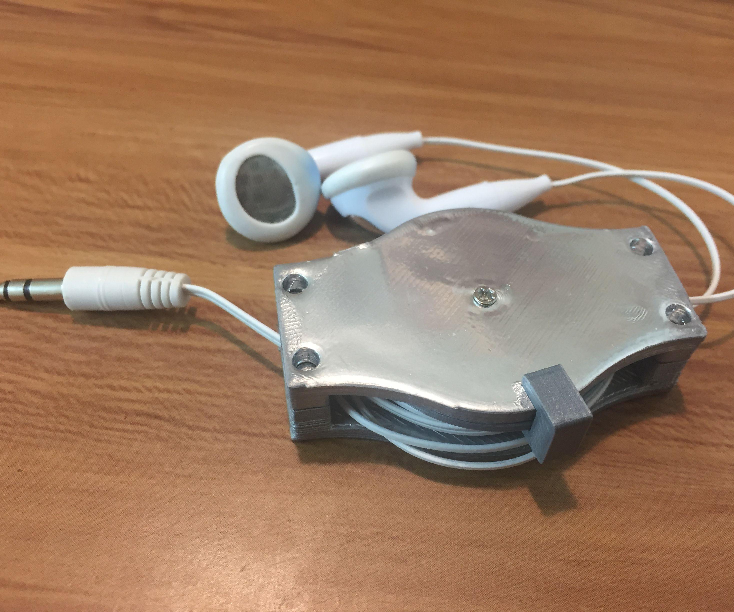 3D Printed Retractable Earphones
