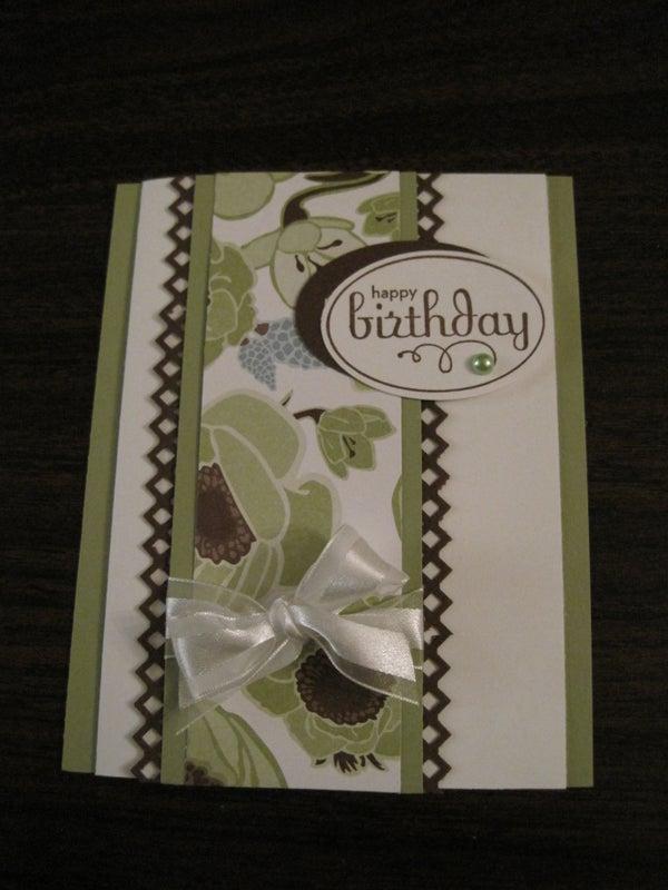 Multi-Layered Birthday Card