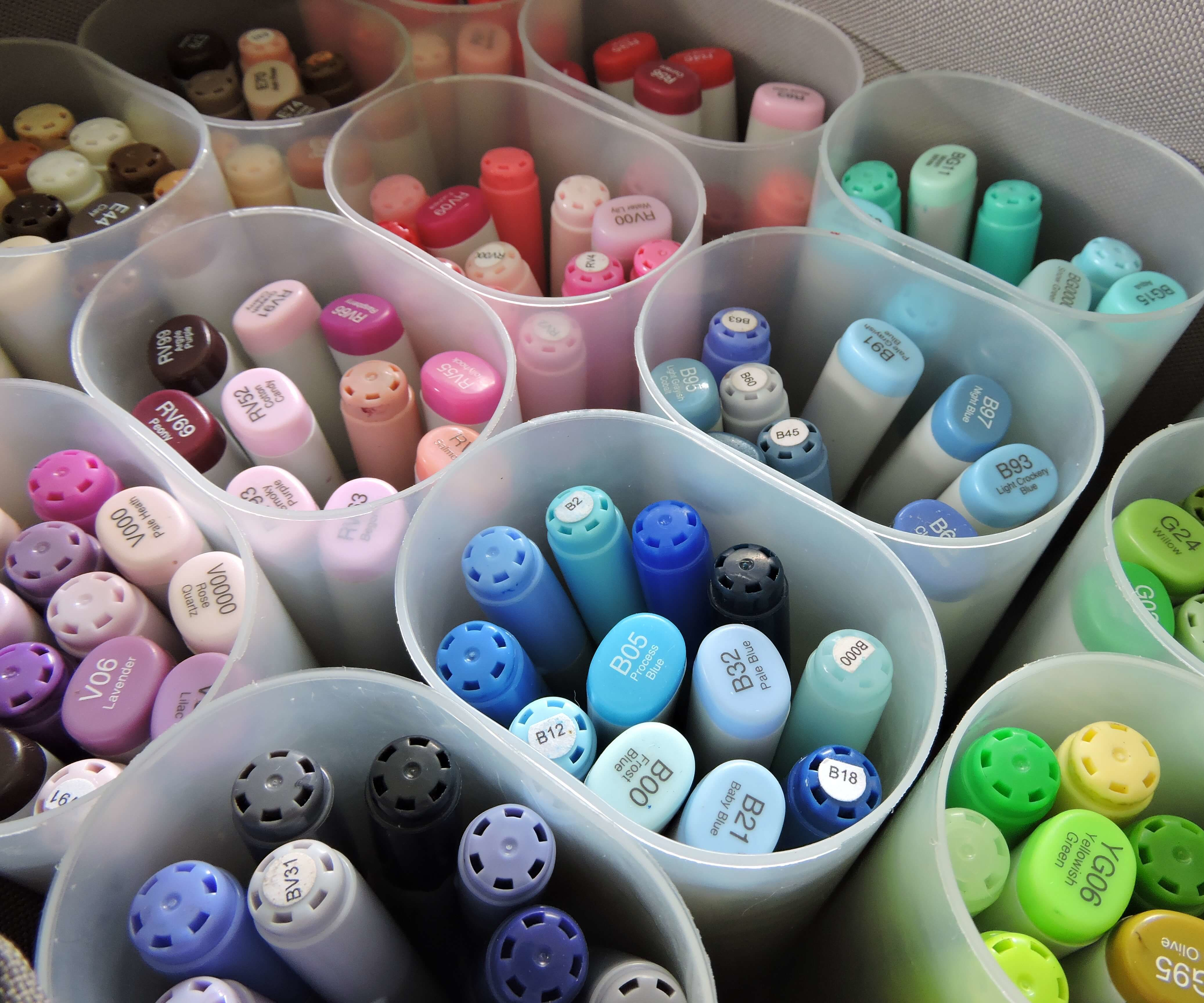 How I Store Copic Markers
