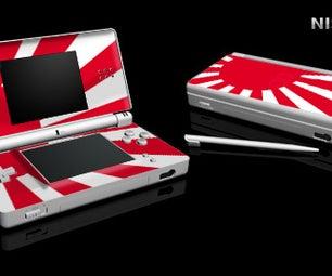 Custom Nintendo DS Lite Skin