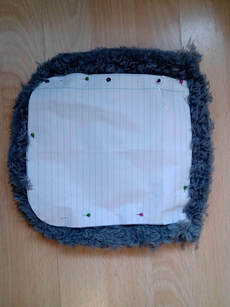 Pin and Sew the Bottom Half Together