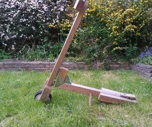 DIY木制滑板车