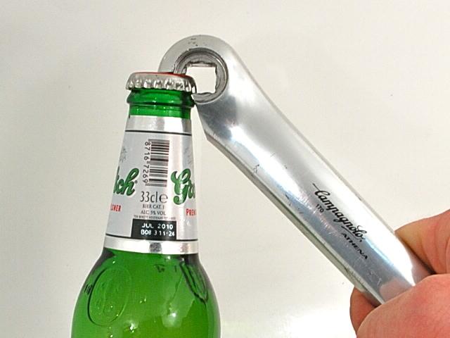 Bicycle Crank Bottle Opener