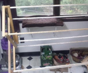 Add Magnetic Catches to Your Drying Rack