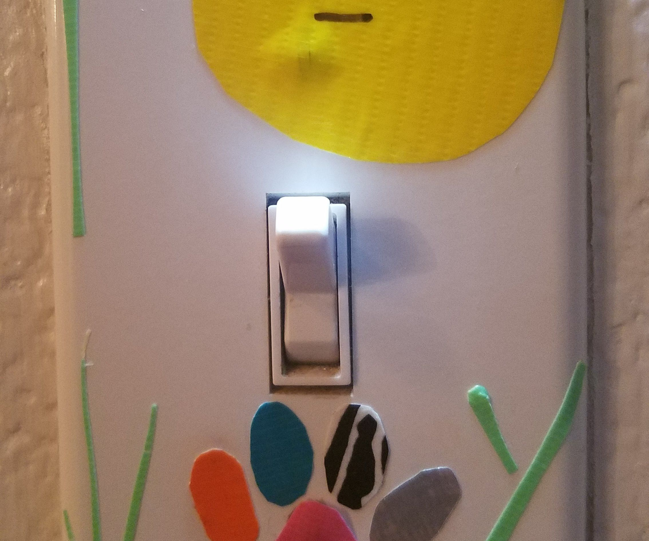 Decorated Light-Switch Cover!!