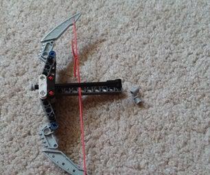Mini Foldable Lego Crossbow Mk. 2
