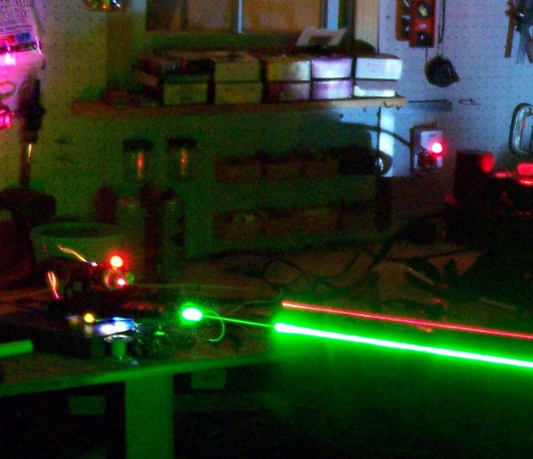 Ghostbusters Proton Pack With Arduino and LASERS!