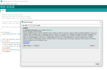 Programming the Wemos - Update the Arduino IDE