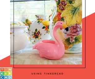 Flamingo Planter (Tinkercad)