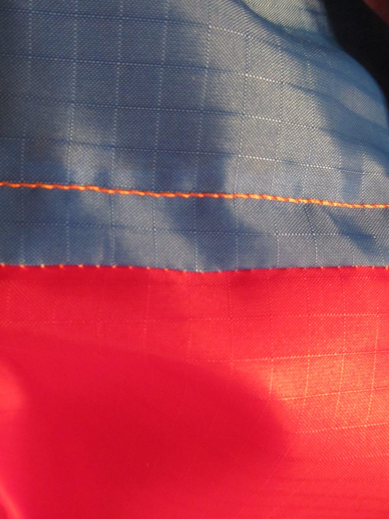 Reinforcing the Seam.