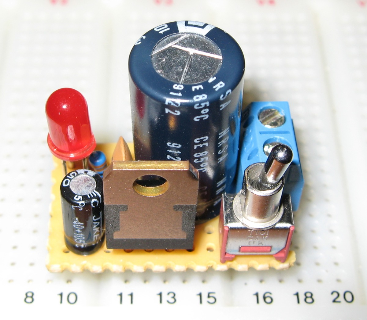 5V breadboard mini PSU